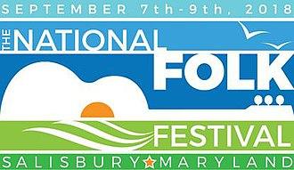National Folk Festival (United States) - Image: Logo for the National Folk Festival in Salisbury, MD