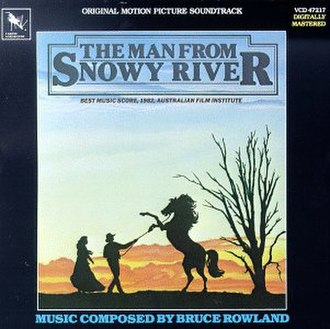 The Man from Snowy River (soundtrack) - Image: MFSR USA CD