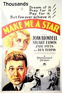 <i>Make Me a Star</i> (film) 1932 film by William Beaudine