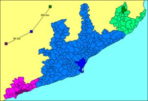 Barcelona metropolitan area - P.U.R. of Barcelona