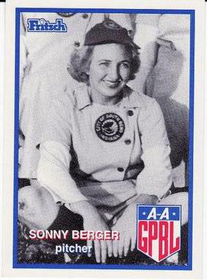 Sonny Berger - Image: Margaret Berger (AAGPBL)