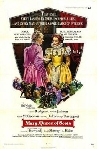 Mary, Queen of Scots (1971 film) - Original theatrical poster