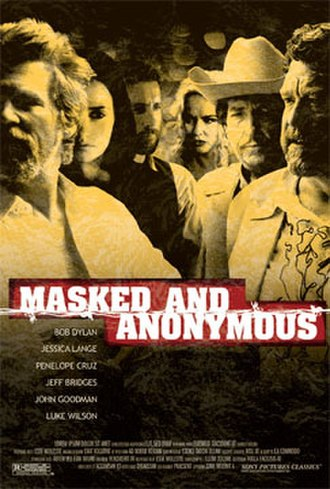 Masked and Anonymous - Theatrical release poster