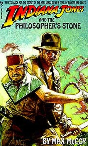 Indiana Jones and the Philosopher's Stone - Image: Max Mc Coy IJ Philosophers Stone