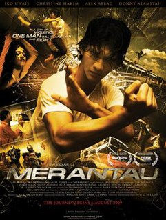 <i>Merantau</i> 2009 Indonesian film directed by Gareth Evans