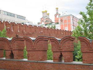 Merlon - Merlons and crenels, Moscow Kremlin