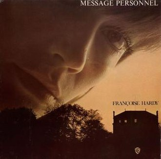 Message personnel (album) - Image: Message personnel, cover album FR, 1973