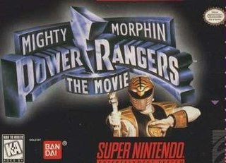 <i>Mighty Morphin Power Rangers: The Movie</i> (video game)