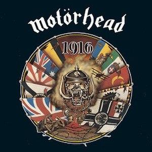 1916 (album) - Image: Motörhead 1916 (1991)