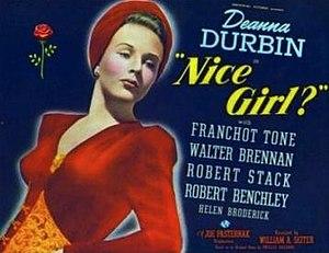 Nice Girl? - Image: Nice Girl? Film Poster