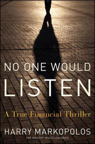 No One Would Listen - Hardcover edition