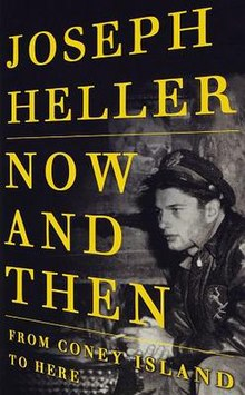 Now and Then (Joseph Heller book) 1st edition cover.jpg