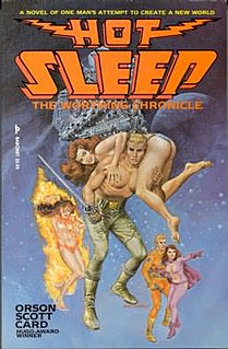 <i>Hot Sleep</i> 1979 Book by Orson Scott Card