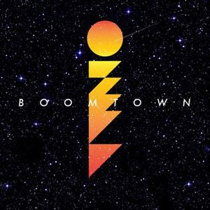 Boomtown (Ozma album) - Image: Ozma album art Boomtown