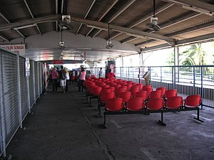 Rapid Ferry - The Butterworth passenger waiting area