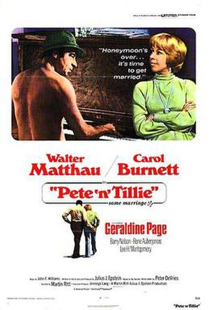 Pete 'n' Tillie - Theatrical poster