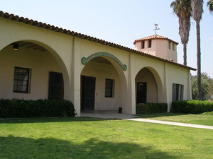 Cal Poly Pomona academics - First building to be erected on the Cal Poly Pomona campus — Kellogg horse stables