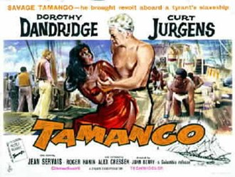 Tamango - American version of Tamango poster