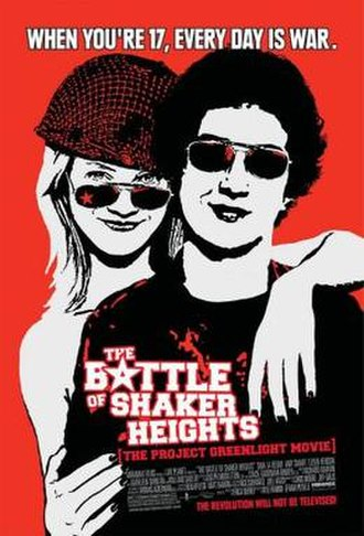The Battle of Shaker Heights - Theatrical release poster