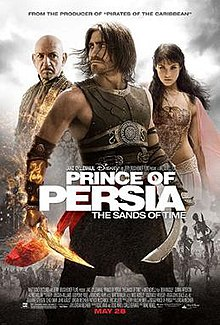 Prince of Persia poster.jpg Prince of Persia The Sands of Time film Wikipedia the free 220x326 Movie-index.com
