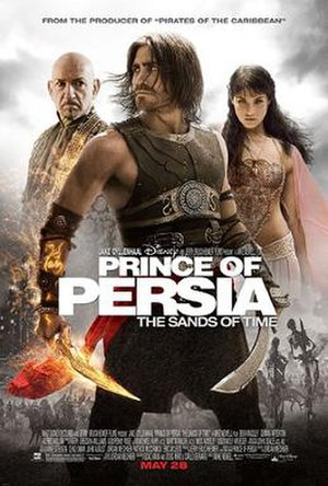 Prince of Persia: The Sands of Time (film) - Theatrical release poster