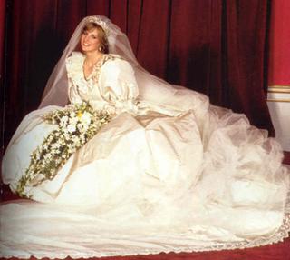 Wedding dress of Lady Diana Spencer