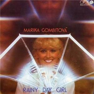 Dievča do dažďa - Image: Rainy day girl