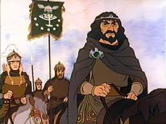 Aragorn - Aragorn as he appears in the Rankin/Bass animated production of The Return of the King.