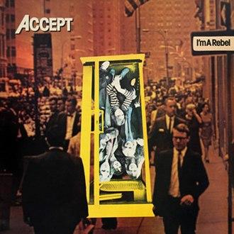 I'm a Rebel - Image: Rebel cover