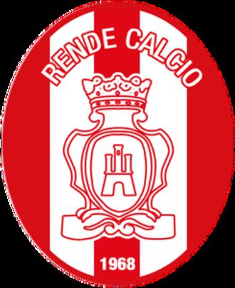 Rende Calcio 1968 - Image: Rende calcio 17