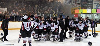 Fernie Ghostriders - Ghostriders win the 2007 KIJHL Championship