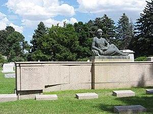 Arnold Rönnebeck - Hodges Memorial, Fairmount Cemetery, Denver 1929