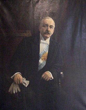 Roque Sáenz Peña - Image: Roque S Peña