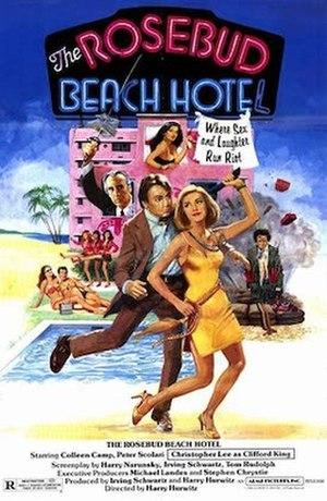 The Rosebud Beach Hotel - DVD cover artwork