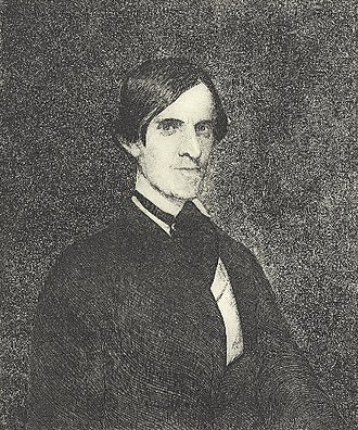 Stephen Alonzo Schoff - S.A. Schoff, Etching by J.B. Small after a painting by A.B. Durand