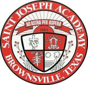 Saint Joseph Academy (Brownsville, Texas) - Image: SJA seal