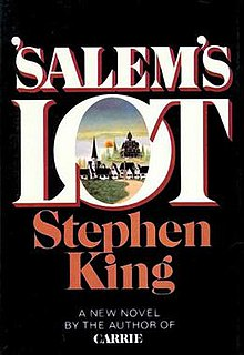 1975 novel by Stephen King