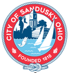 Official seal of Sandusky, Ohio