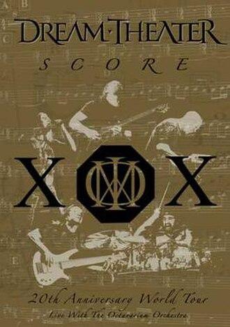 Score (Dream Theater album) - Image: Score (Dream Theater album cover art)
