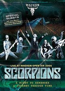 dvd scorpions live at wacken open air 2006