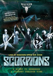 <i>Live at Wacken Open Air 2006</i> live DVD release by Scorpions