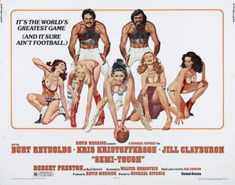 Semi-Tough - film poster by Robert McGinnis
