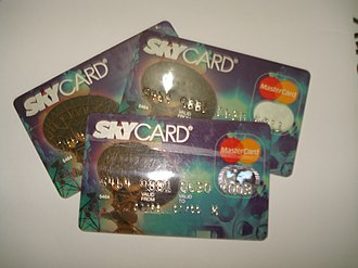 Sky Cable - SkyCard, the first cable TV branded credit card in the Philippines.