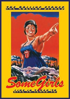 Some Girls: Live in Texas '78 - Image: Somegirls 123456