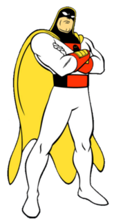 Space Ghost Hanna-Barbera character.