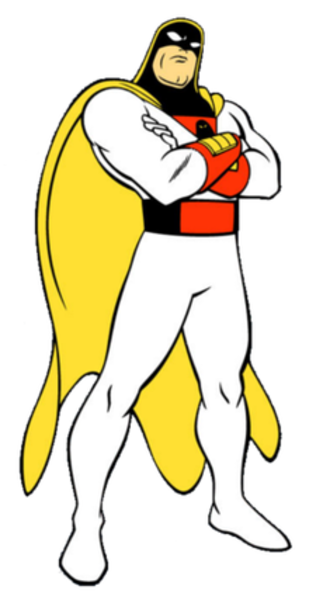 Space Ghost - Space Ghost as he appears in Space Ghost Coast to Coast