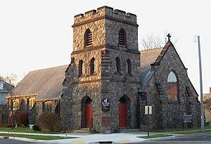 St Ambrose's Episcopal Church (Antigo, Wisconsin) - Image: St Ambrose Episcopal Church, Antigo, Wisconsin