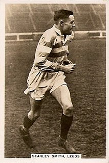 Stanley Smith (rugby league, born c. 1910) English RL coach and former GB & England international rugby league footballer
