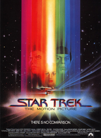 Star Trek: The Motion Picture - Theatrical release poster by Bob Peak