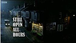 Daŭre Open All Hours Title Card.jpg